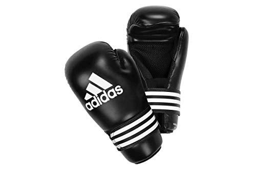 adidas Guantoni Semi Contact Gloves, Nero/Grigio, L, adiBFC01