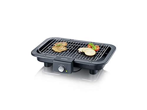 SEVERIN PG 8546 Barbecue-/Tischgrill (2.500W, Grillfläche, 41x26 cm) schwarz