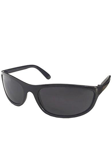 T2 style lunettes de soleil, cadre noir / Smoke Lens