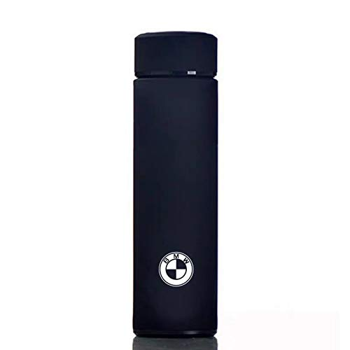 JDclubs 17 oz Car Logo Black Frosted Travel Mugs & Tumblers Vacuum Insulated Stainless Steel Thermal Bottle Fashion Business Thermal Cup for Hot or Cold Drink Coffee Or Tea (fit bmw)