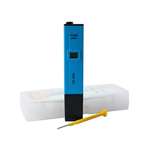 Weedness Milwaukee EC-meetinstrument - Grow EC-mes planten indoor teelt digitale aarde hydro water EC-waarde tuin aquarium geleidingsmeter zoutmeter