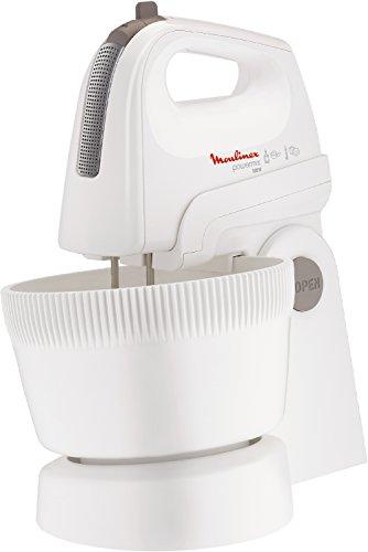Moulinex-HM-6151-Handmixer-Powermix-Combi-500-Watt-5-Stufeninklusiv-Rhrschssel-und-Stnder-weisilber
