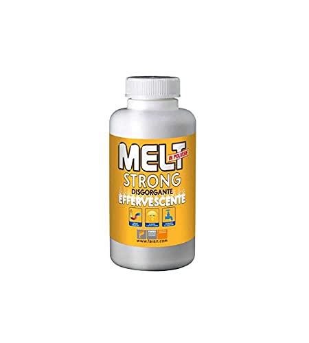 MELT Strong - Desatascador granular Stura Wc - Fregadero blanco (600 g)