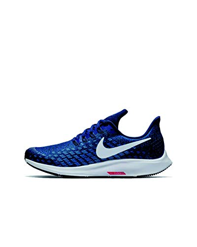 Nike Air Zoom Pegasus 35 (GS), Scarpe da Campo e da Pista Bambino, Multicolore, Indaco (Indigo Force), Bianco, Blu (Photo Blue Blue Voi), 404, 35.5 EU