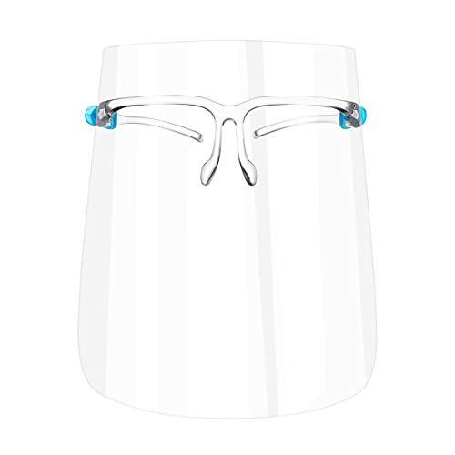 Hemoton 4Pcs Sicherheitsgesichtsschutz Vollgesichtsschutz Anti-Splash Augengesichtsschutz Anti-Speichel-Schutzbrille Persönliche Schutzausrüstung Zufällige Farbe