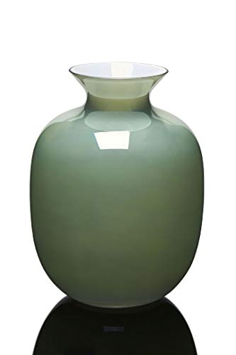 IVV Rialto Vaso H.30 Cm.incamiciato Verde Menta