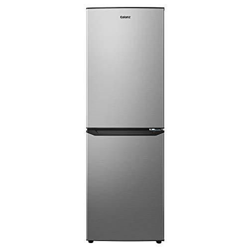 Galanz GLR74BS1E04 Bottom Freezer Refrigerator, Stainless Steel Look