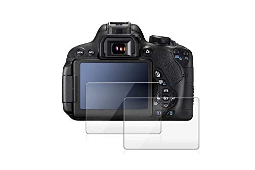 Gear Guard Screen Protector for Canon EOS 1500D (Transparent) - Pack of 2