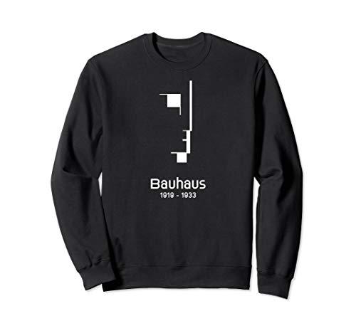 Bauhaus Logo von 1919 - 100 Jahre Bauhaus Design Schule Sweatshirt
