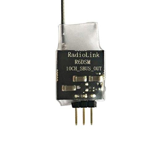Radiolink R6DSM 2.4G 10 Canales 10CH RC Receptor DSSS FHSS RX Receptor para TX Transmisores AT9 AT9S AT10 AT10II