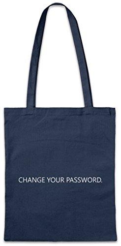 Urban Backwoods Change Your Password Bolsas de la Compra Reutilizables