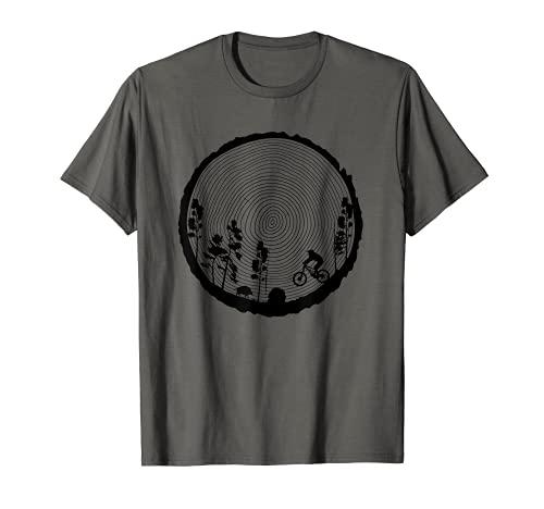 Mountainbike MTB Downhill Freeride Geschenk T-Shirt