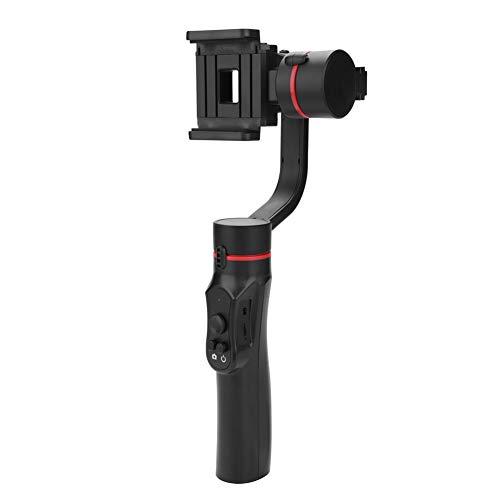 Stabilizzatore cardanico palmare a 3 assi, Stabilizzatore maniglia per smartphone Supporto del telefono Selfie Stick per iPhone X / 8 Plus / 7 / SE Samsung Galaxy S9 + / S8 / S7 / S6 Huawei, ecc