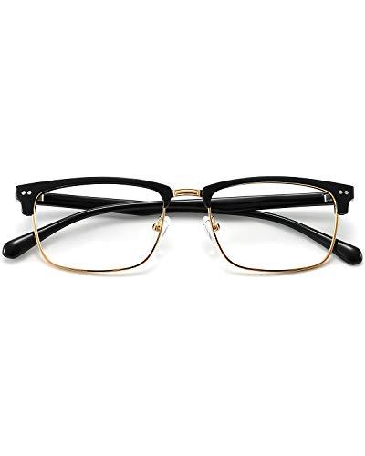 ANRRI Blue Light Blocking Glasses Light Frame Eyeglasses Gaming Computer Glasses