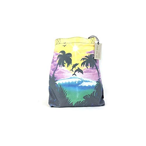 Vans - Been There Done That, Bolso Bandolera Mujer, Multicolor (Dolphin Beach/Black/True White), Talla Unica