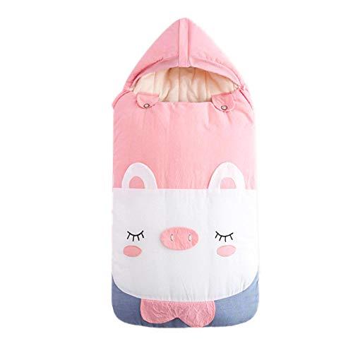 Bebé Saco de Dormir Invierno Bolsa de Dormir Niño Manta de Invierno para Cochecitos de Bebé Sillas de Paseo Cunas Swaddle Wrap 90 * 45cm