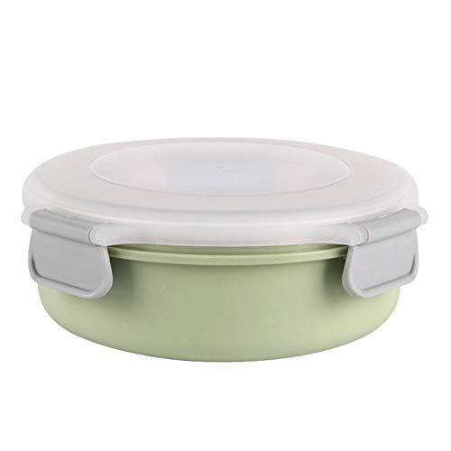 ADXD Draagbare roestvrijstalen lunchbox, lekvrije voorraadbak, BPA-vrije snackschaal, voor kinderschool en volwassenenkantoor