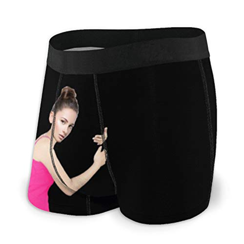 e'w'r'w'erwerwe Personalisierte Hose für Männer Höschen für Männer Männerunterwäsche Foto Hose Gesicht Boxershorts für Männer Jubiläum Personalisiertes Geschenk(Schwarz L)