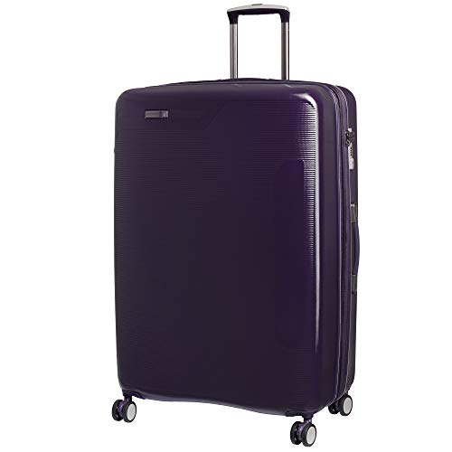 it luggage Signature 8 Wheel Hard Shell Single Expander Suitcase Large with TSA Lock Maleta, 79 cm, 148 Liters, Morado (Purple)
