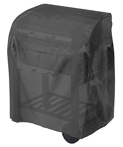 Tepro Universal Grillabdeckhaube für Grillwagen, klein, schwarz, 104,1 x 48,3 x 101,6 cm (BxTxH), 8100, passend für folgende tepro-Modelle: 1061, 1061H, 1161, 3167, 5712 & 5715