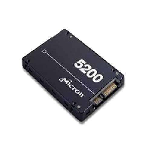 Micron 5200 ECO | MTFDDAK7T6TDC-1AT1ZABYY | 7.68TB 2.5インチ SATA 6GB/S 64層3D TLC NAND | 300万Mttf | 業界トップのソリッドステートドライブSSD