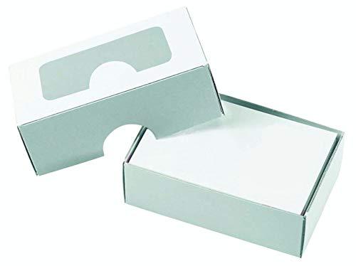 Pressel Visitenkartenbox, Karton, 90 x 60 x 30 mm, für: 100 Karten, weiß Inhalt: 250