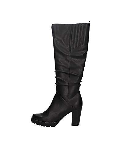 MARCO TOZZI Damen 2-2-25601-25 Langschaftstiefel Kniehohe Stiefel, Black Antic, 37 EU