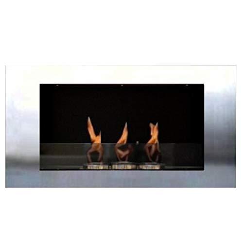 Gel ed Etanolo Caminetti Modello Roma Royal la selezione del colore (Acciaio Inox)