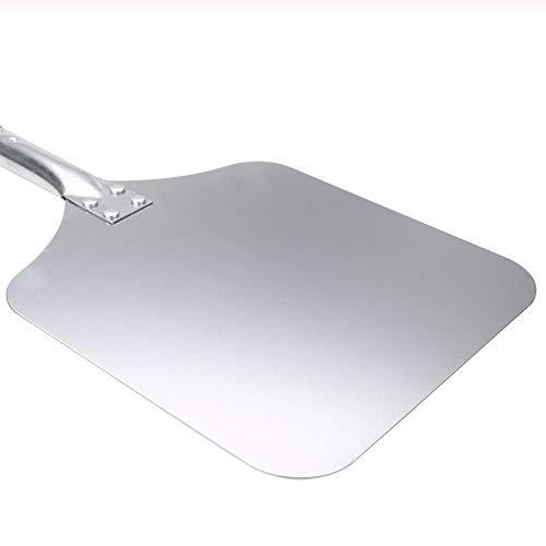 Hyiiw Holz Aluminium Pizza Peel Square Pizzaa König Pastry Tools Pizza Schaufel