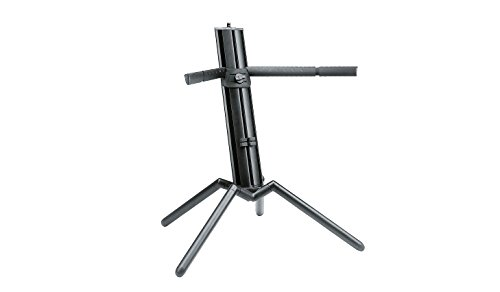 K&M Stands K&M-18840 Keyboard Stand-Baby-Spider Pro-Black Anodized (18840.000.35)