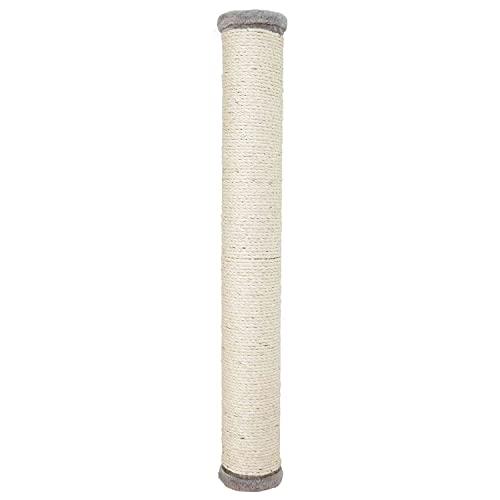 Trixie 49929 Kratzstamm zur Wandmontage, ø 11 × 80 cm, grau