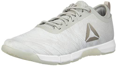 Reebok Damen Speed Her Tr Cross Trainer, Damen, White/Spirit White/Moondust Met/Skull Grey, 8