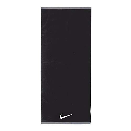Nike Fundamental Konstrast Design Handtuch (L) (Schwarz/Weiß)