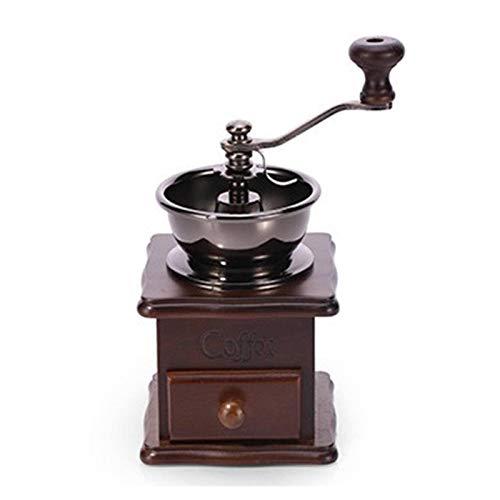 N\C Molinillo de café manual, Máquina de pulir de granos de café de mano, Molino de rebabas de café de mano, Molinillo de frijol manual