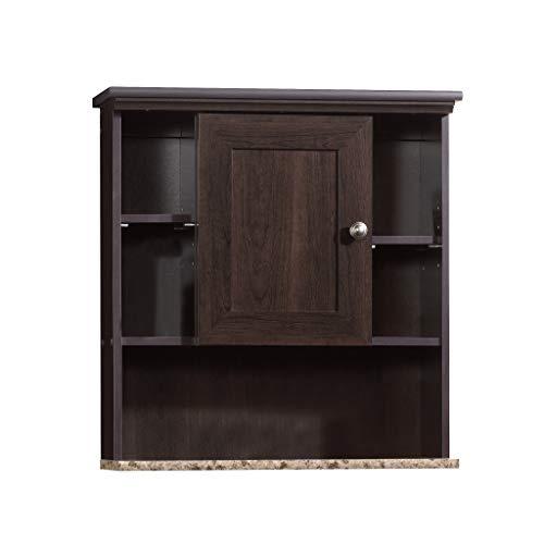 Sauder Peppercorn Wall Cabinet, L: 23.31' x W: 7.56' x H: 24.57', Cinnamon Cherry