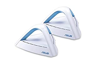 ASUS Lyra Trio (2-Pack) AC1750 Dual Band Mesh WiFi System Covers Multi-Story Homes up to 5400 sq. ft., with AiMesh support (B07G3GT982) | Amazon price tracker / tracking, Amazon price history charts, Amazon price watches, Amazon price drop alerts