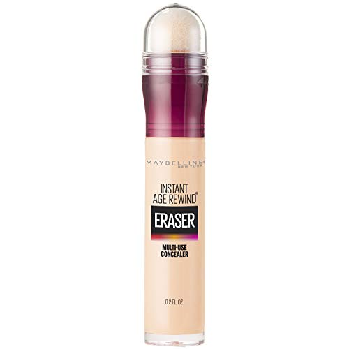 Maybelline Instant Age Rewind Eraser Dark Circles Treatment Multi-Use Concealer, Ivory, 0.2 Fl Oz (Pack of 1)