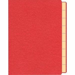 RNK Briefmarkenmappe A5 rot 10 Fächer mit Goldprägung auf der Vorderseite