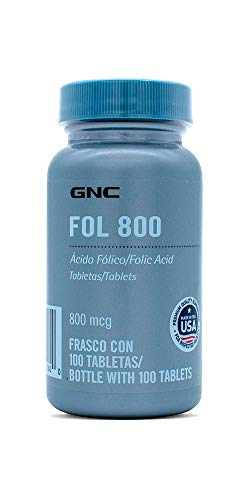 GNC 800 Folic Acid 800 mcg