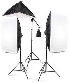 StudioFX 2400 Watt Large Photography Softbox Continuous Photo Lighting Kit 28