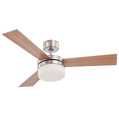 Deckenventilator Ventilator Fernbedienung Beleuchtung Deckenlampe Globo Alana 0333