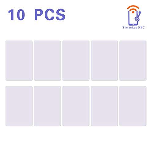 10 NXP Ntag215 NFC ISO PVC Karte NFC Tag Vollständig Kompatible Mit Amiibo TagMo,504 Bytes Speicher -TimesKey