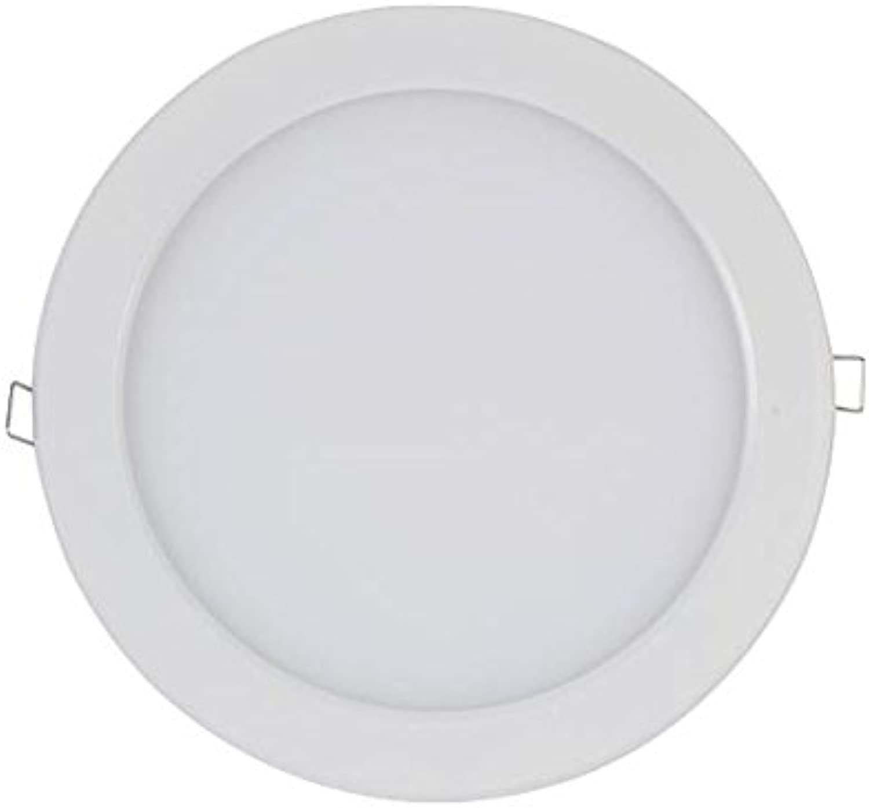 PLAFONNIER LED 16W - ROND - Weiß