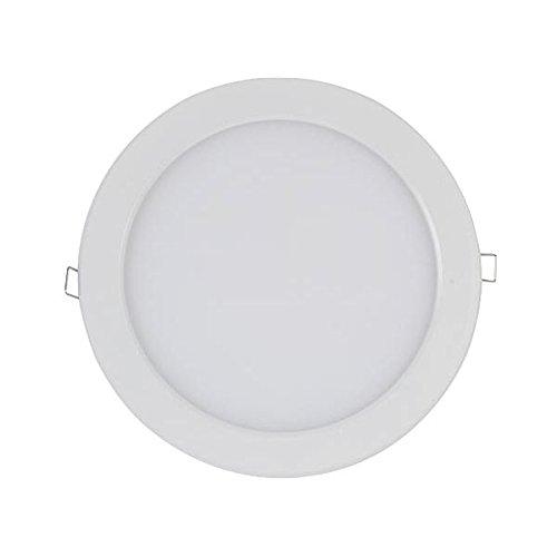 PLAFONNIER LED 16W - ROND - BLANC