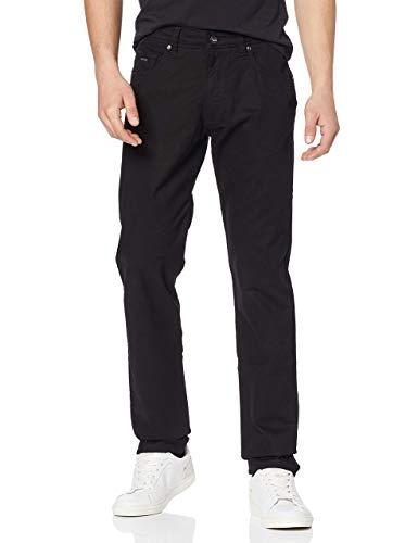 bugatti Herren 3020-76101 Loose Fit Jeans, Schwarz (Black 290), W38/L32