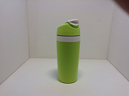 TUPPERWARE To Go Kaffee Go 360ml Limette Weiß Kaffeebecher Thermobecher Coffee 7539