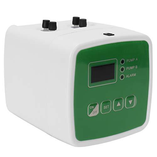 FOLOSAFENAR Temporizador de riego Protección contra Corriente débil ABS + PP Temporizador de riego automático para Patios, Balcones, oficinas para(European regulations)