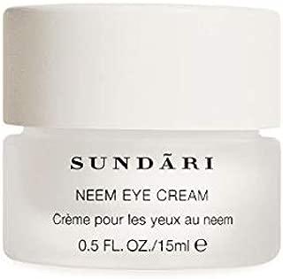 SUNDARI Neem Eye Cream for All Skin Types – Dark Circle Remover – Eye Serum for Puffy Eyes – Under Eye Tightener – Anti-Wrinkle Firming Eye Cream