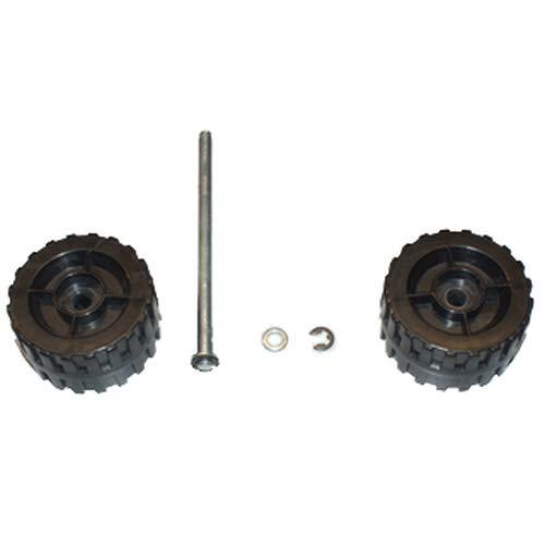 ATIKA Ersatzteil | Räder komplett für Laubsauger LSH 3000
