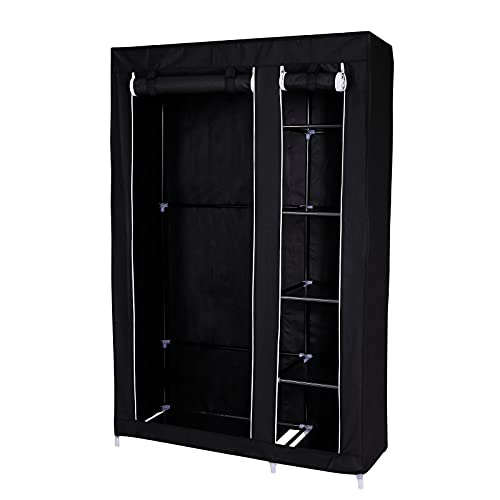 dibea Armoire de rangement penderie armoire pliable en tissu différentes tailles et couleurs